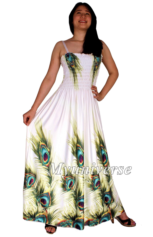 Peacock Evening Dress