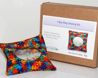I Spy Bag Jigsaw Sewing Kit