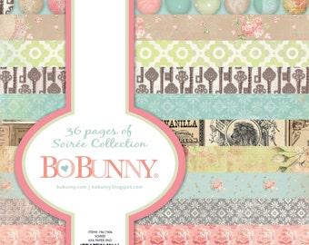 "BoBunny ""Soiree"" Collection 6x6 Pad"