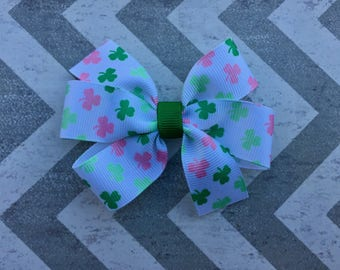 Small St. Patrick's Day Hair Bow