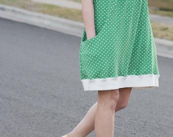 Pocketful of Posies Dress PDF Sewing Pattern for Women