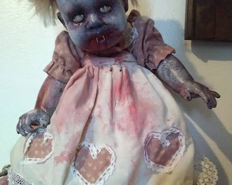 Creepy Vampire Doll!
