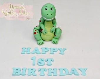 3D Dinosaur Edible Cake & Cupcake Topper Set