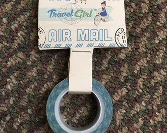 Washi Tape October Afternoon - Travel Girl Airmail