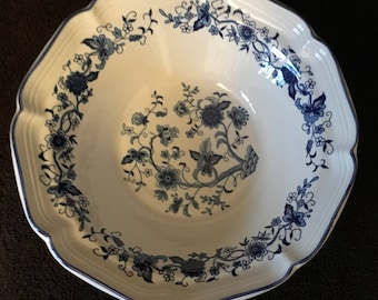 Blue Willow Vintage China Bowl