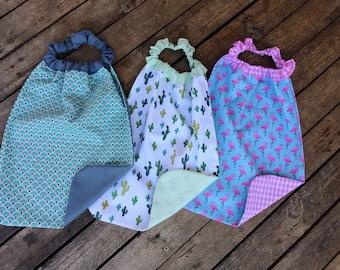 Towel canteen napkin kids towel, towel, personalized, elastic bib, bib canteen