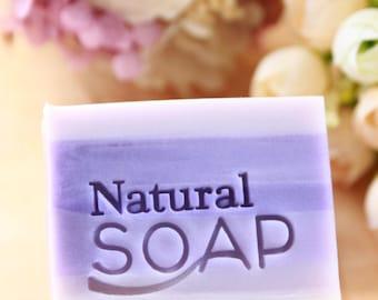 Ashuai soap-Acrylic soap stamp A006 Natural Soap