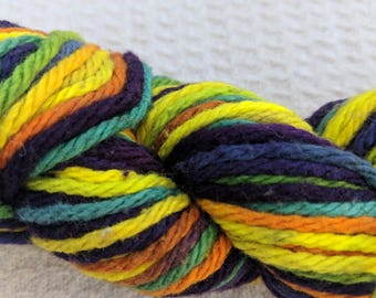 100% Cotton hand dyed worsted weight yarn 1.5 oz