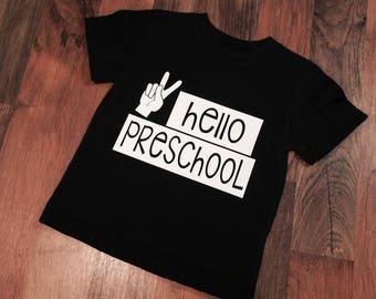 Hello Preschool Tee