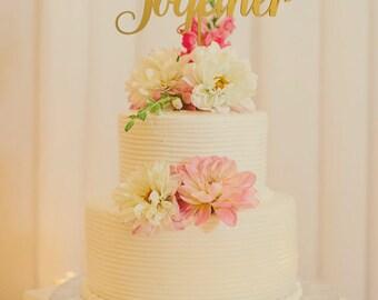 Wedding Cake Topper - Wedding Cake Topper - Wood Wedding - Topper Rustic - Better together cake topper