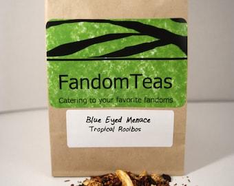 Blue Eyed Menace: Game of Thrones Inspired Tea Blend (Tropical Organic Rooibos)