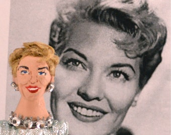 Patti Page Doll Miniature Historical Music History Doll Uneek Doll Designs