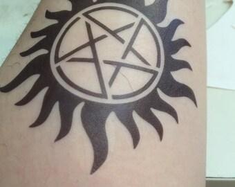 Fake Tattoos - Supernatural Fandom - Cosplay - Impala - Sam - Dean