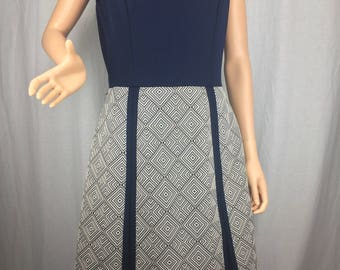 Mod 1970s Sleeveless Dress