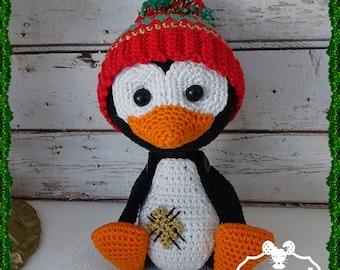 Penguin, Amigurumi crochet plush