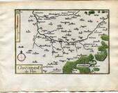 1634 Nicolas Tassin Map H...
