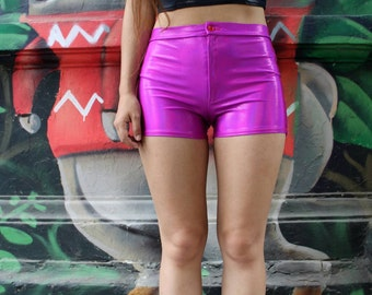 Holographic short - iridescent