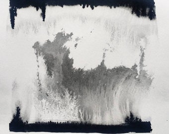 Original Sumie Ink Wash Painting XXIV
