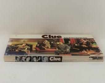 Vintage Board Game Clue 1972 Parker Brothers