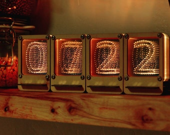 Nixie Pipe Clock - Modern LED Nixie Tube