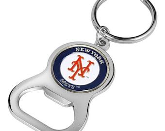 New York Mets Keychain Bottle Opener