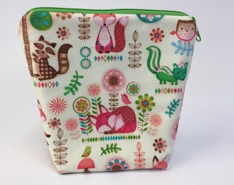 Woodland Animals Project Knitting Bag!