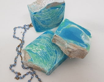The Cosmic Sea Handmade shea butter and avocado oil soap