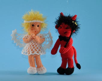 angel and devil crochet pattern