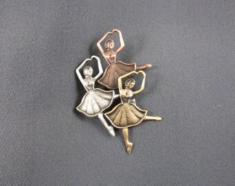 Ballerina Brooch- Ballet Jewelry- Ballerina Jewelry