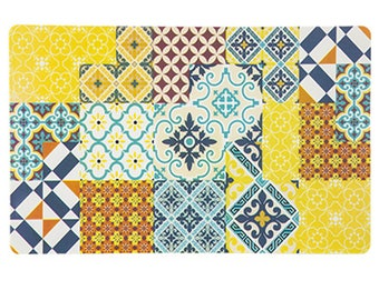 Arabesque Style Yellow tones placemat set of 6