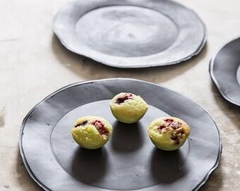 CERAMIC PLATE, Cake Plate, Dessert Plate, Small Ceramic Plate, Modern Plate, Pottery Plate, Porcelain Plate, Ceramic Dish, Housewarming Gift