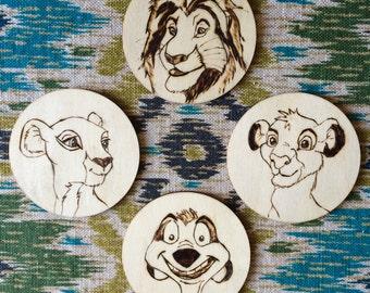 Custom Woodburn Coasters