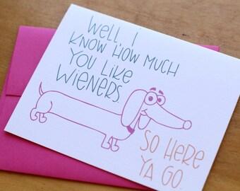 Wieners Card