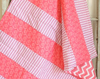 Coral Cuddle Quilt (baby)