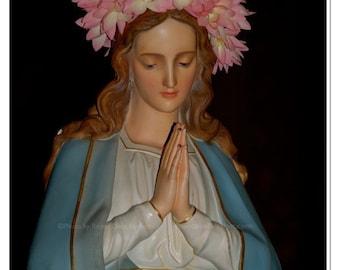 Mary Full of Grace Photo - Ave Maria