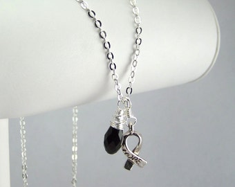 Black Awareness Necklace