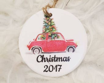 2017 Christmas ornament