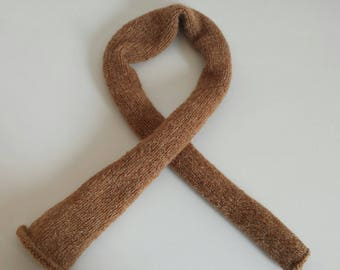 Very soft camel scarf for your baby