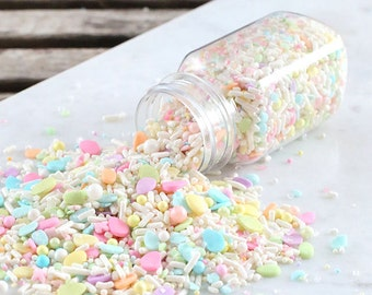 Sprinklefetti Easter Sprinkles Mix, Pastel Sprinkles, Sparkling Sugar, Sugar Pearls, Nonpareils, Cake Sprinkles, Cupcake Sprinkles, Quins