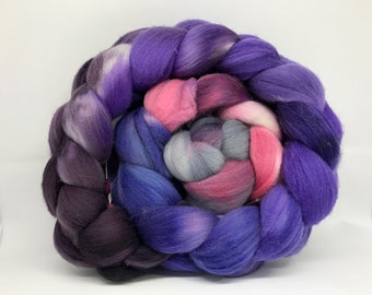 Spinning Fiber Rambouillet/Bombyx 60/40 - 5oz - Mouseheart 1
