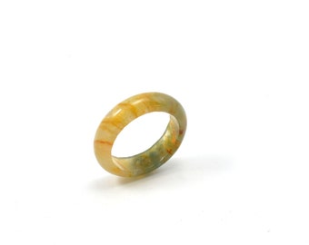 Size 9 Agate Ring