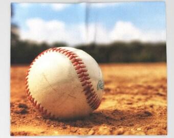 Baseball Fleece Blanket-Stadium Blanket-Sports Blanket-Bed Blanket-Baseball Decor-Sofa Blanket-Large Throw Blanket-Sherpa Fleece Blanket