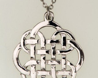 Eternity Pewter  Pendant