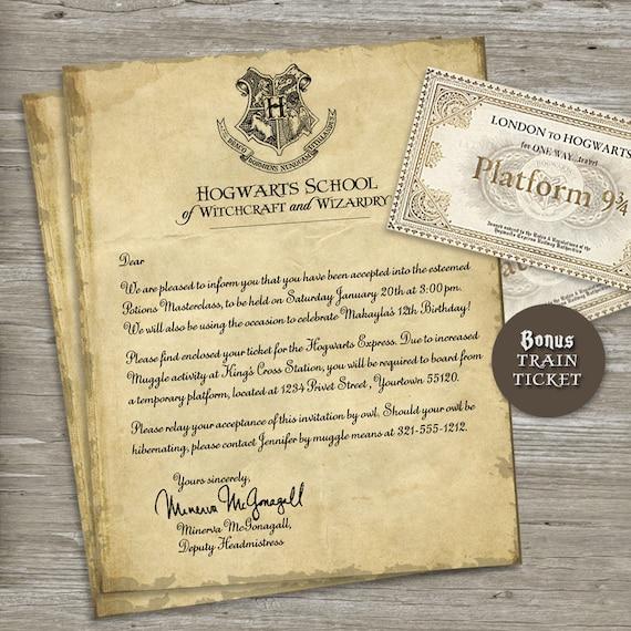 Harry potter invitation letter dolapgnetband harry potter invitation letter stopboris Images