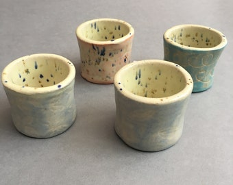 Squiggle egg cups
