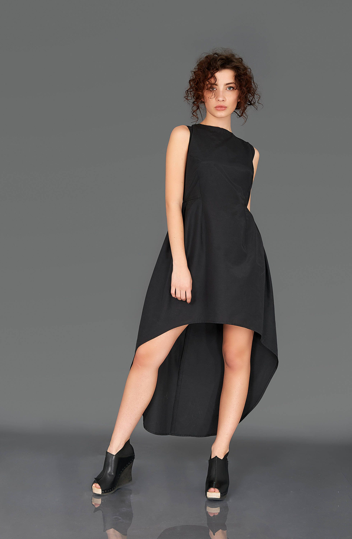 Abschlussball Kleid hohe Taille Avantgarde Kleidung