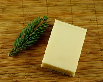 Lavender Cypress Shampoo Soap Bar  - Natural Shampoo, Solid Shampoo