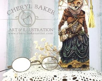 Fox Bookmarks - Bookmarker - Bookmarking - Bookmarks for Books - Book Mark - Reading Bookmark - Book Mark Bookmark - Book Art - Teachers