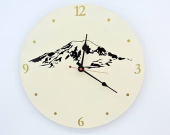Mt. Rainier Wall Clock