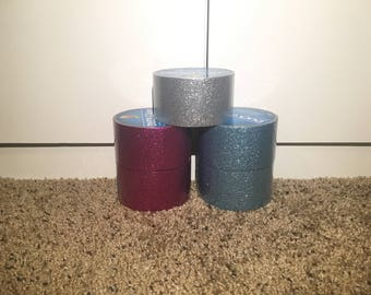 glitter duct tape (5 pack)